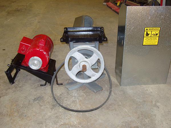 1/2 - 3HP Patented Scissors Jack Design